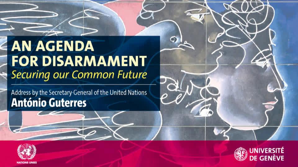 Version anglaise - Agenda pour le désarmement